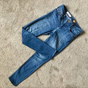 Pilcro skinny jeans, sz 27 TALL